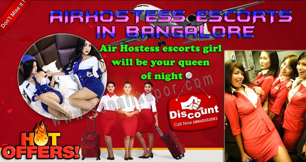 Airhostess escorts in Bangalore